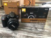 Nikon D3400 mit 50mm f1