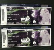 Ufo361 Wave Konzert Tickets 2x