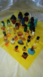 5 x aus Miniatur Flaconssammlung