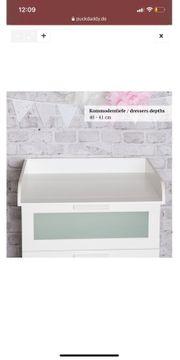 Wickelaufsatz für Ikea Brimnes Kommode