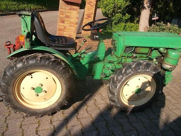 Traktor Holder A 18 Knicklenker