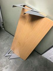 2 Wandregale 80x20cm