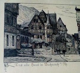 Bild 4 - 2 x Bacharach Altes Haus - Limburg Limburg an der Lahn