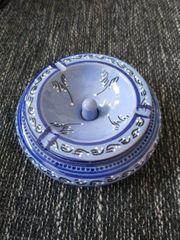 Tunesischer Aschenbecher in Blau mit