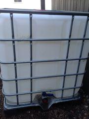 Neuwertiger Wassertank