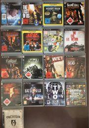 PS3 Spiele zu verkaufen