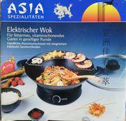 Asia elektrischer Wok Neu OVP