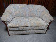 Zweisitzer Couch Stilmöbel mit Holz