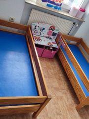 2 Kinderbette aus Massivholz 2
