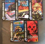 Sega Saturn Spiele