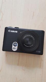Canon Powershot S110 schwarz wie