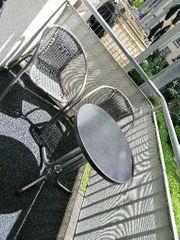 Balkonset 3 teilig in grau