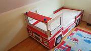 Kinderbett - Feuerwehrbett - 90x190 oder 90x200