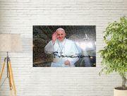 Papst Franziskus Kunstdruck 40x30 cm