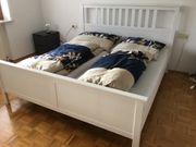 Bettgestell Lattenroste Matratzen Nachttische und
