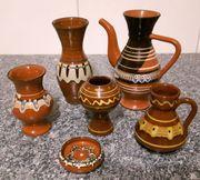 bulgarische Keramik