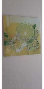 Glasbilder Früchte
