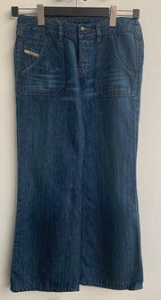 Damen Jeans Diesel blau