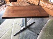 Fernsehtisch Beistelltisch Tisch Chrom Kreuzfuß