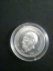 Silbermünze Adenauer