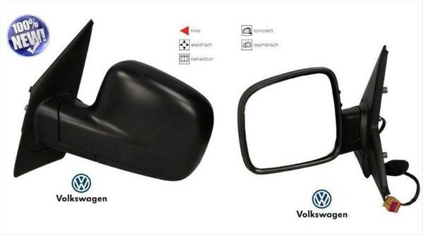 Links Asphärisch Spiegelglas Beheizbar für VW Transporter T5 Van 2003-2009