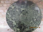 Marmorplatte rund grün gebraucht