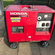 Stromerzeuger Honda EX4000