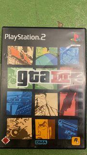 GTA III PS2