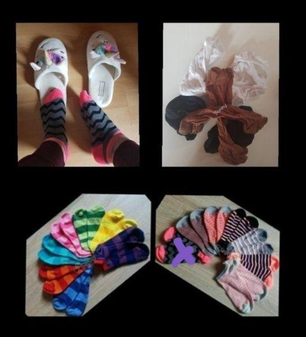 getragene Socken auch extrem