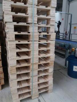 Sonstiger Gewerbebedarf - Paletten im Europalettenmaß 120x80 cm