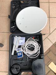SAT ANLAGE Mobil mit Megasat