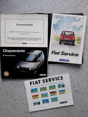 Fiat Cinquecento Handbuch Betriebs- und