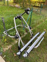 Heckträger Fahrradträger für 2 Fahrräder