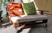 Upcycling Garten-Sofa