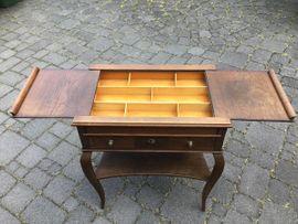 Sonstige Möbel antiquarisch - Kleines Nähtischchen Barock Biedermeier