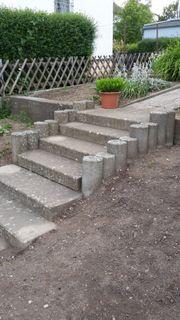 Gartentreppe aus Beton