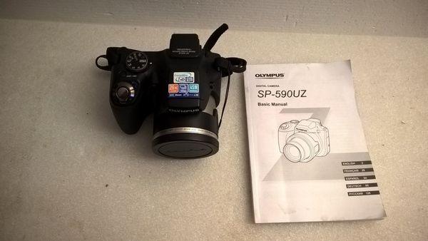 Olympus SP-590UZ Digitalkamera 12 0