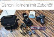 Canon Kamera mit Zubehör