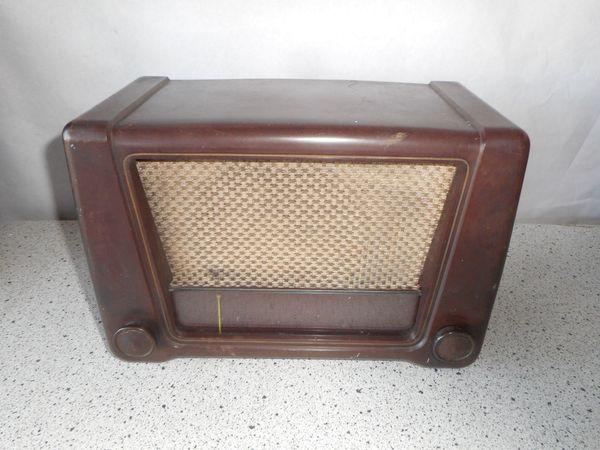 seltener Röhrenradio Saba Triberg W