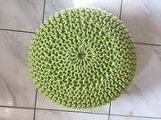 Sitzpouf grün