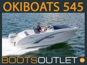 Motorboot Sportboot Angelboot OKIBOATS - 545