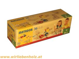 Holzspielzeug - Matador Holzbaukasten für Kinder ab