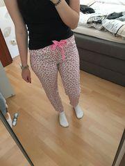 Schlafhose Größe S 34-36 Pyjamahose
