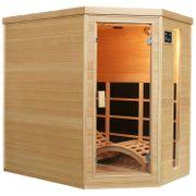 Infrarotkabine Sauna Triplex-Heizsystem B190cm NEU