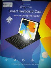 ASHATA Bluetooth Tastatur mit Schutzhülle