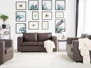 Sofa Set Leder braun 6-Sitzer