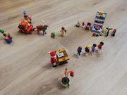 Playmobil Weihnachtsmann Set mit Kindern