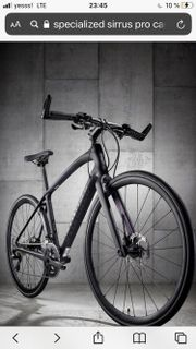 Spezialized Carbon Bike Mens Sirrus