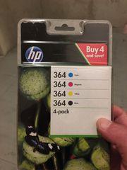 HP Druckerpatrone 364 vier Farben