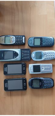 Verkaufe meine Mobiltelefonsammlung laut Bild